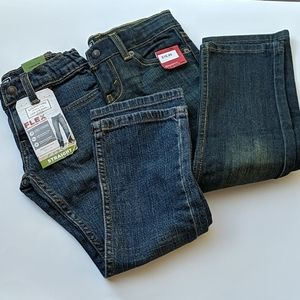 Lot of 2 Toddler Boys Size 5T Levi's Jeans NWT
